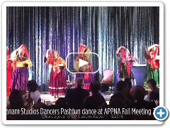 Pashtun Dance performance by Sanam Studios Dancers