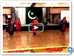 Balochi Dance performance by Sanam Studios Dancers Aug 2016 St. Louis, MO