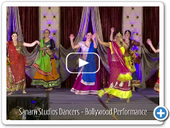 Bollywood Dance Performance by Sanam Studios Dancers
