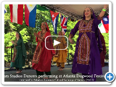 Pakistani Folk Dances Performed by Sanam Studios Dancers in Atlanta 2016